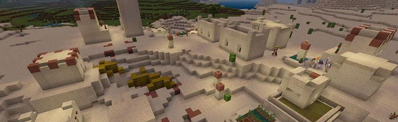 villager dorf minecraft