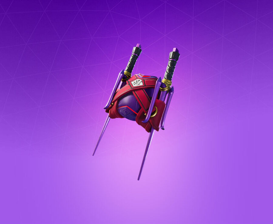 Bladed Breath Back Bling