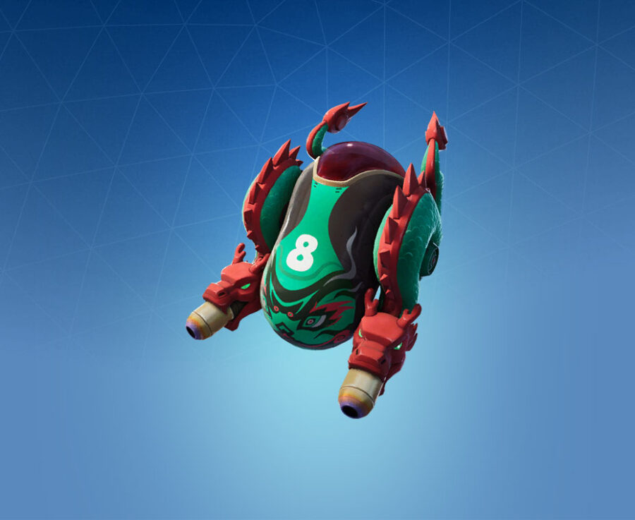 Dragon Guard Back Bling