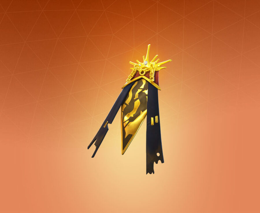 Radiant Mantle Back Bling