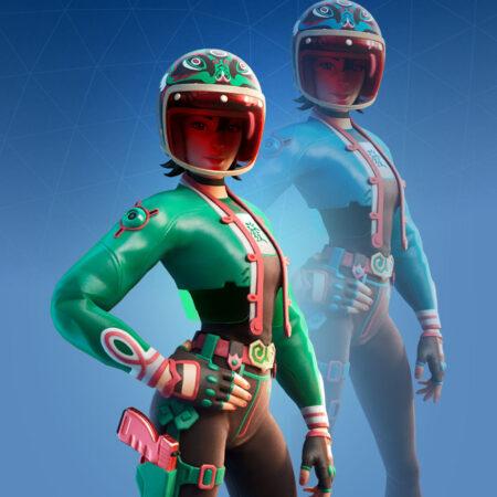 Jade Racer skin