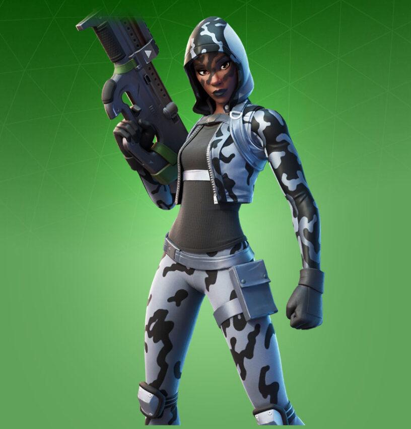 Snow Sniper Skin