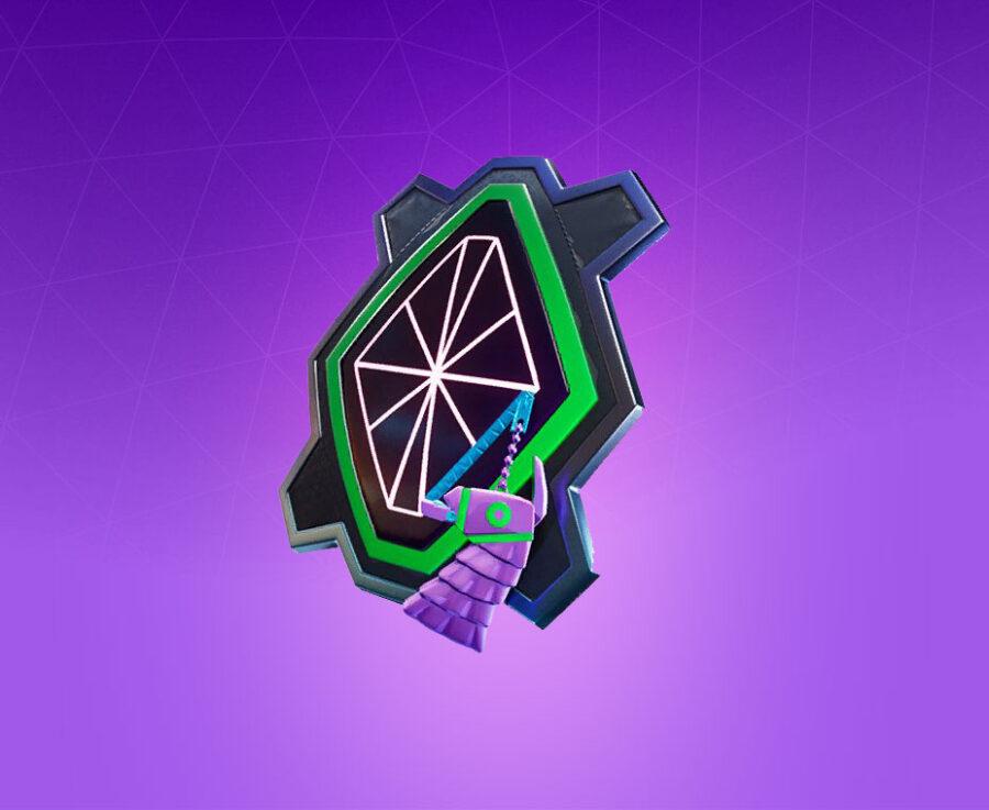 Diamond Grid Back Bling