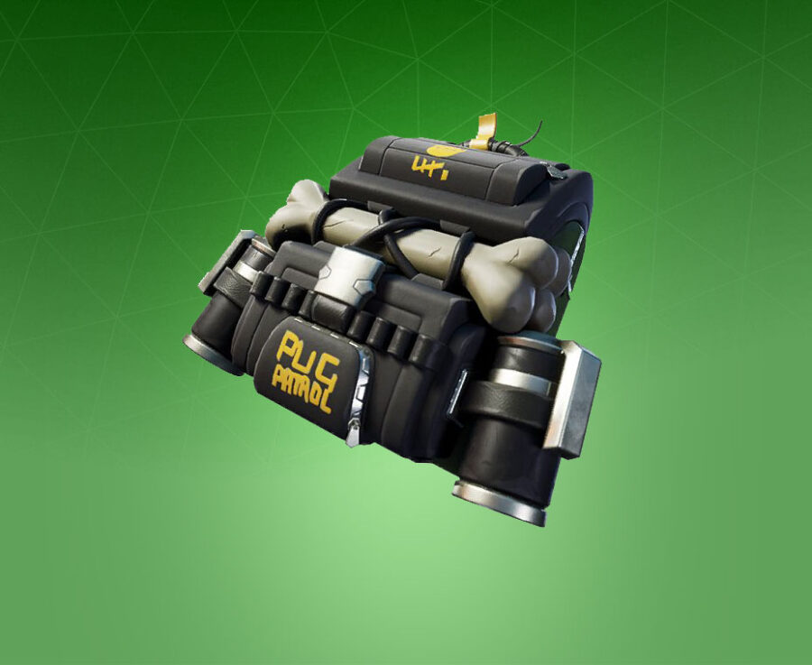Doggie Bag Back Bling