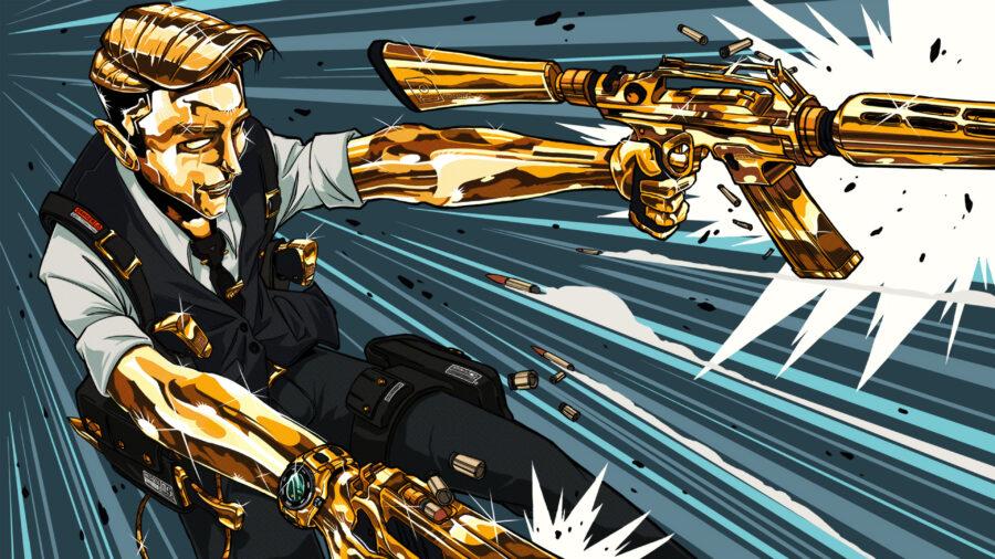Golden Empire Loading Screen