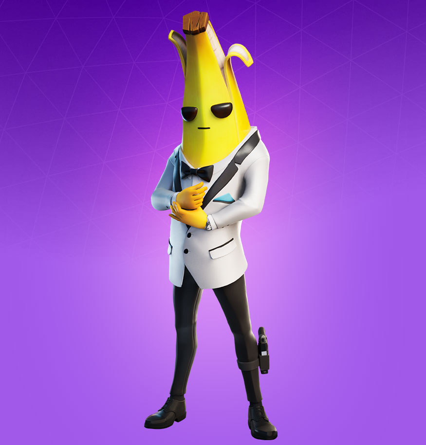 Fortnite Agent Peely Skin Character Png Images Pro Game Guides