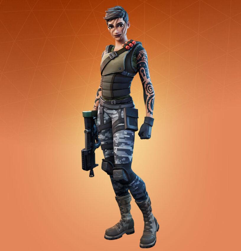 Gear Specialist Maya Skin