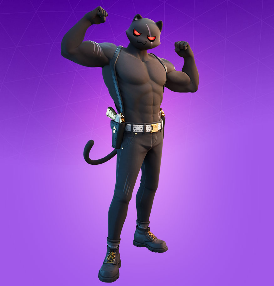 Fortnite Meowscles Skin Character Png Images Pro Game Guides