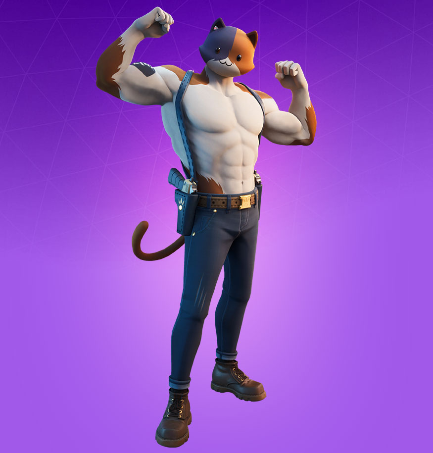 Fortnite Meowscles Skin - Character  Png  Images
