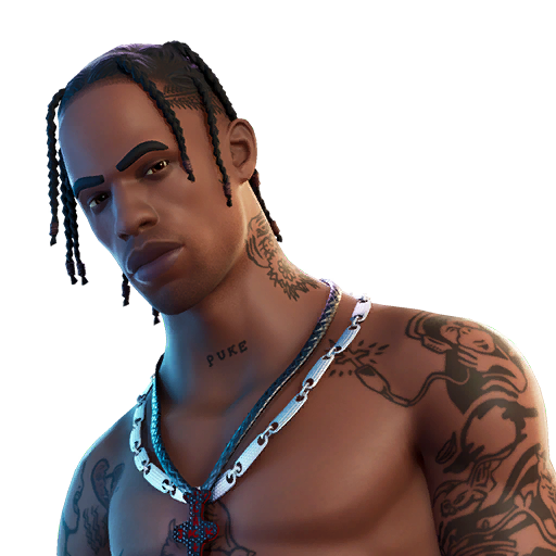 Fortnite Travis Scott Skin - Character, PNG, Images - Pro ...