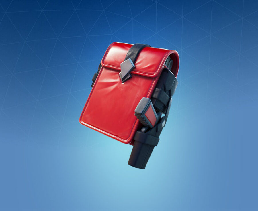 Scarlet Satchel Back Bling