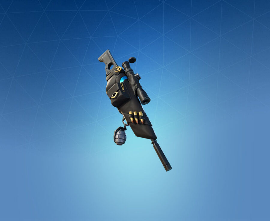 Silencer Back Bling