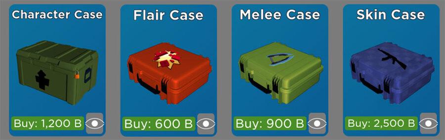 Roblox Arsenal case prices