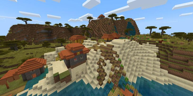 Hillside village seed