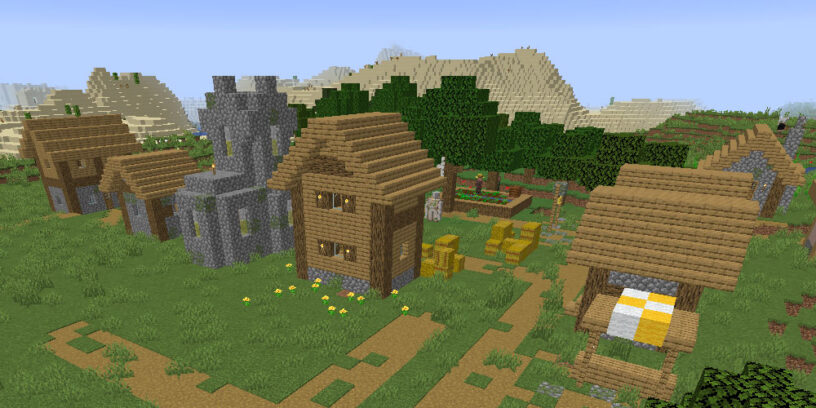 Villages and stronghold seed