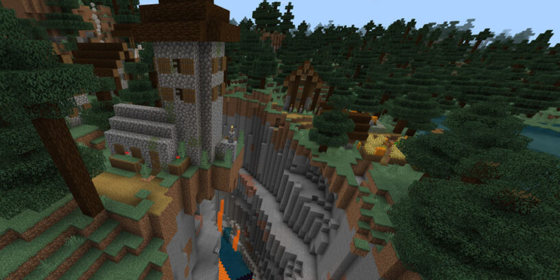 Best Minecraft Bedrock Seeds For 2020 1 16 1 14 Pro Game Guides