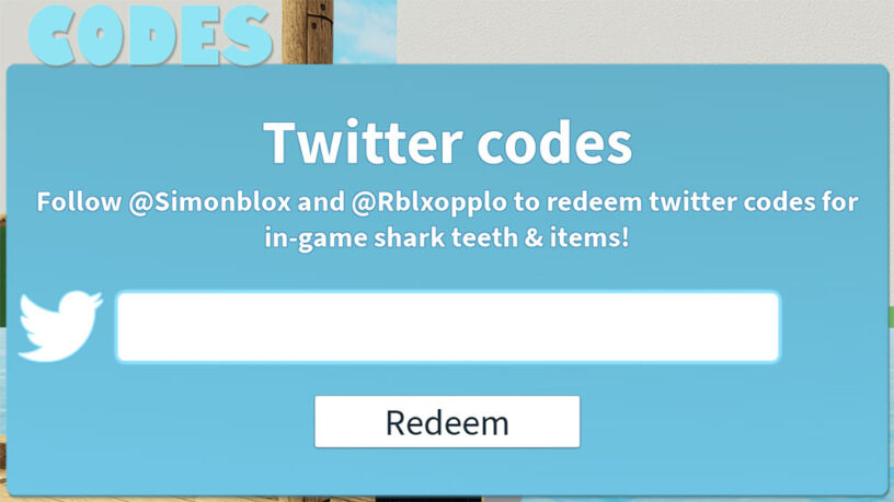 Roblox Id Code For Teeth Roblox Sharkbite Codes July 2020 Pro Game Guides