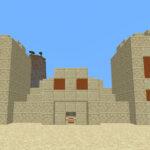 Desert pyramid in Minecraft