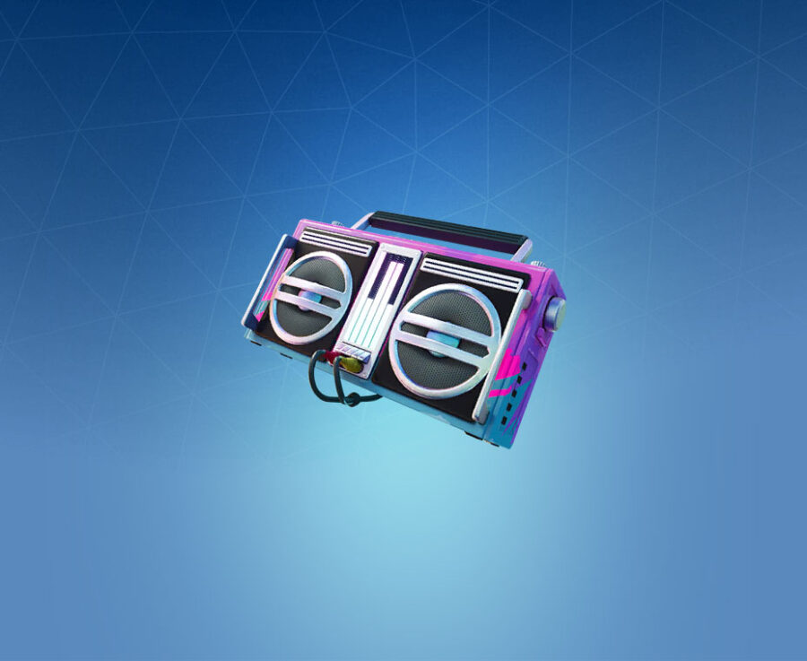 Boombox 3000 Back Bling