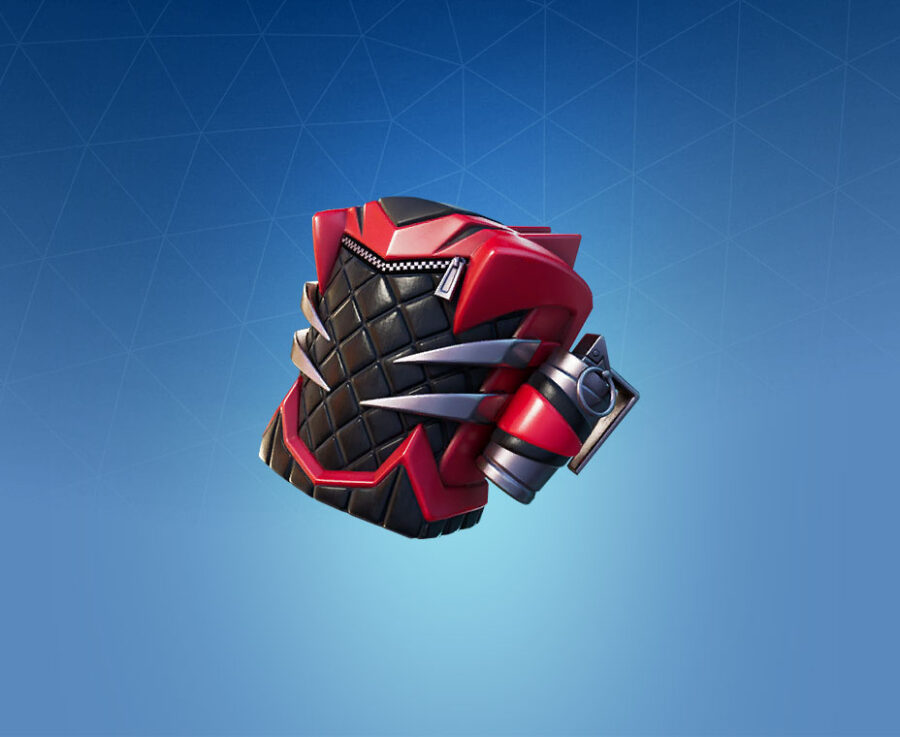 Double Fang Back Bling