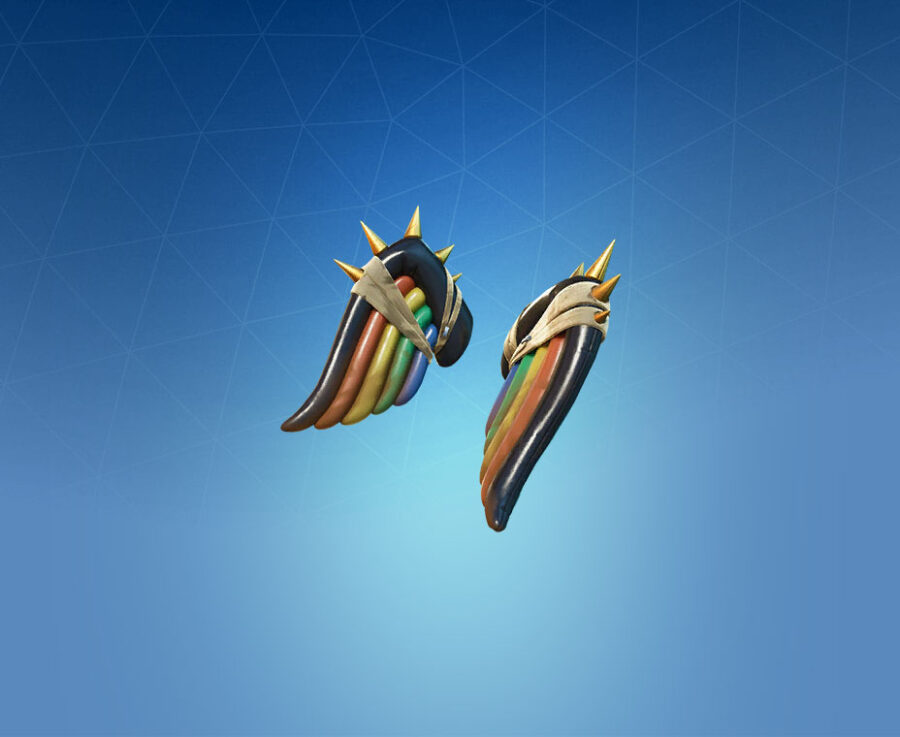 Weathered Wings Back Bling