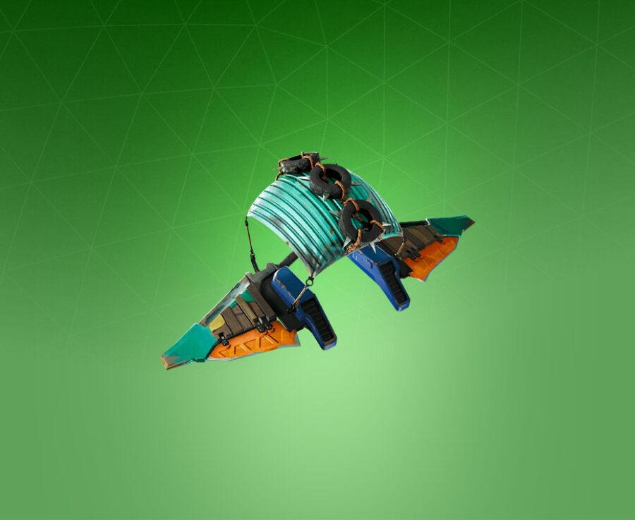 Dumpster Flier Glider