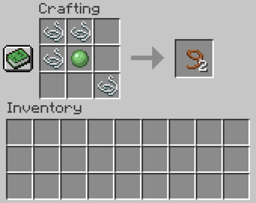 Minecraft lead recipe