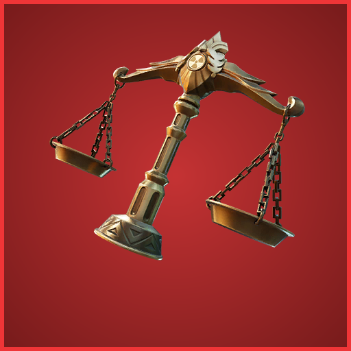 Scales of Justice Back Bling