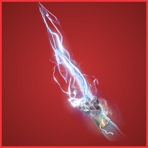 Hand of Lightning Harvesting Tool