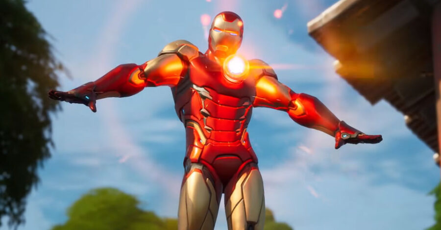 Iron Man ability animation example