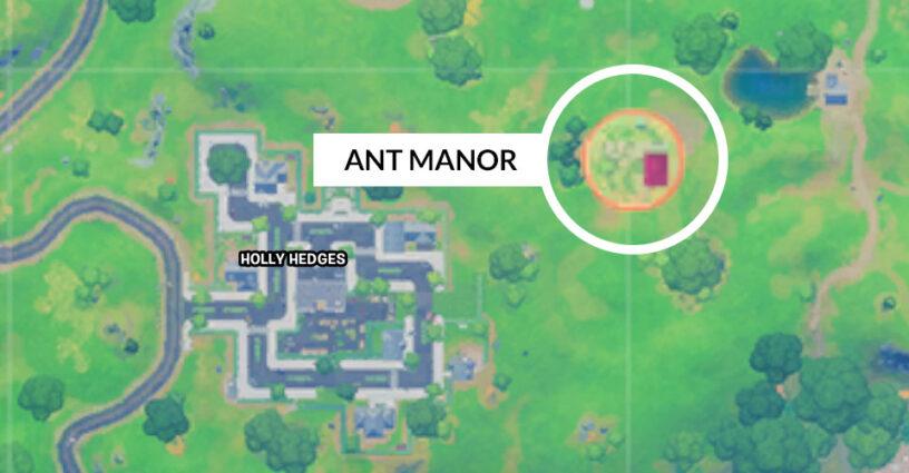 Ant Manor location map