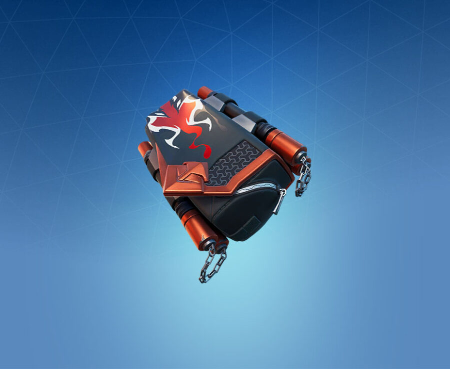 Chainstick Pack Back Bling