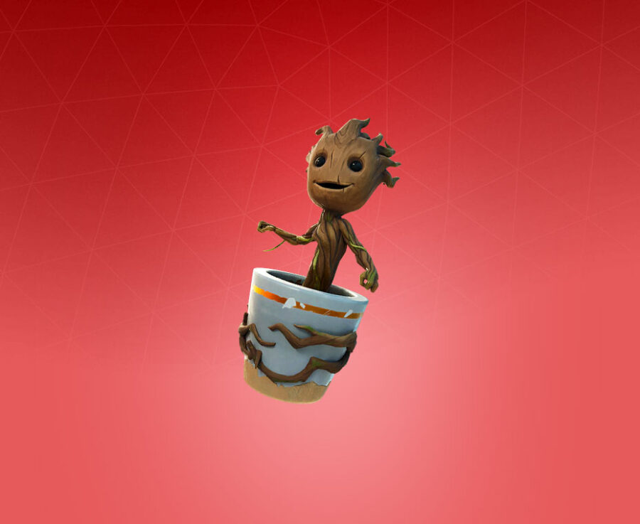Sapling Groot Back Bling