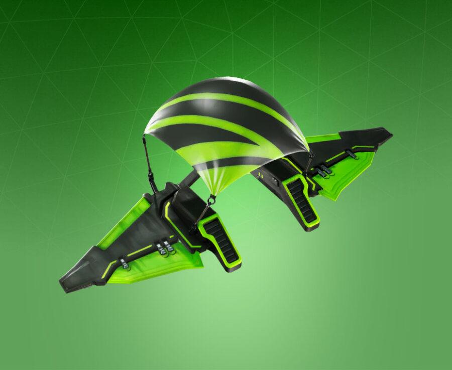 Fluorescent Flier Glider