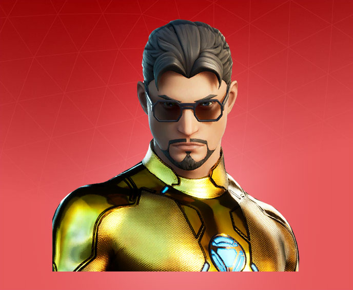 Fortnite Tony Stark Skin Character Png Images Pro Game Guides