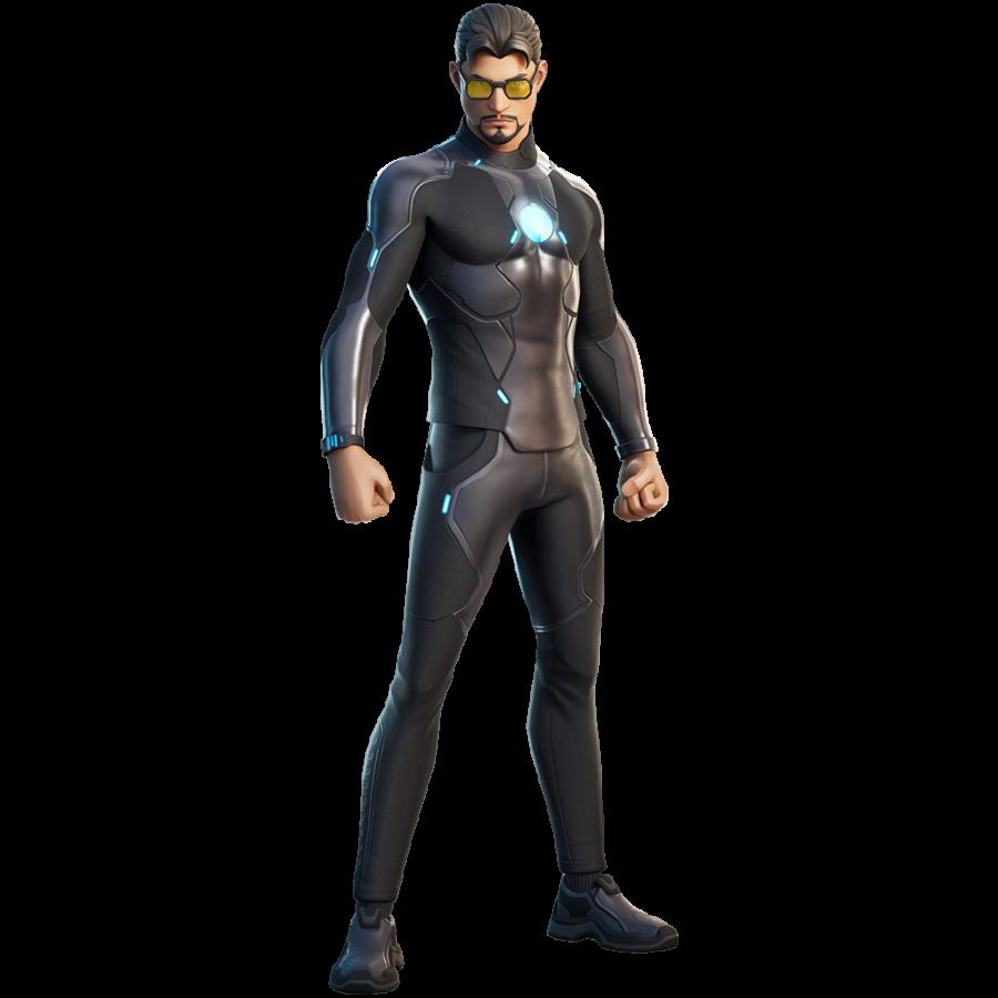 Fortnite Tony Stark Skin - Character, PNG, Images - Pro ...