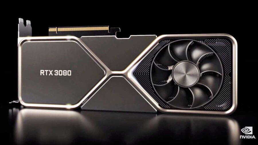 GeForce RTX 3080 promo shot