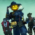 Limited edition Halloween skins in Apex Legends
