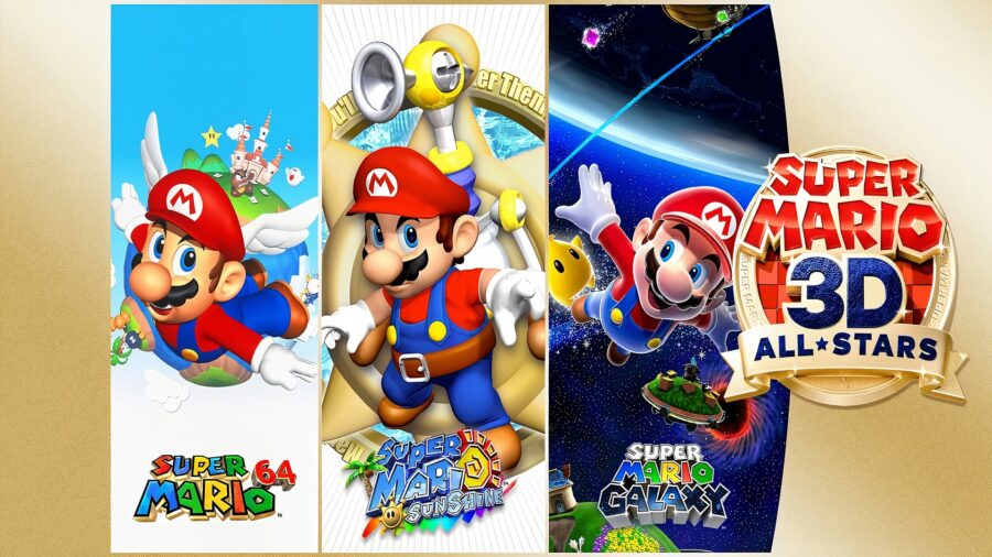 Logo of Super Mario 3D All-Stars