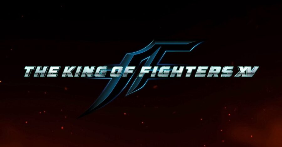 The logo for upcoming fighting game King of Fighters XV