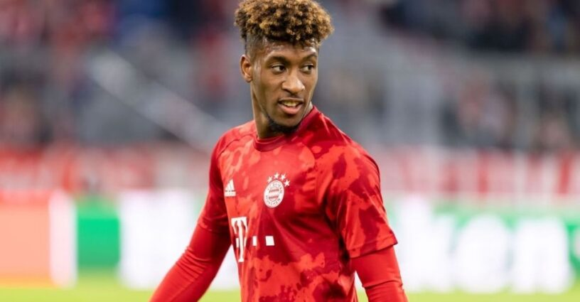 Kingsly Coman playing for Munich