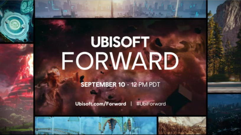 A picture poisted by Ubisoft showing off the date and time that Ubisoft Forward is happening