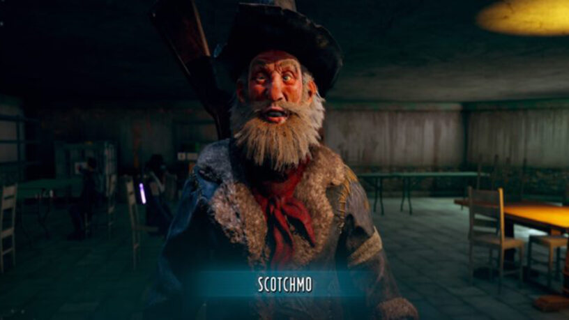 A companion from Wasteland 3 called Scotchmo