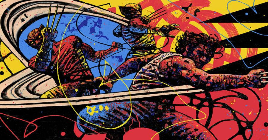 Fortnite high quality Wolverine loading screen