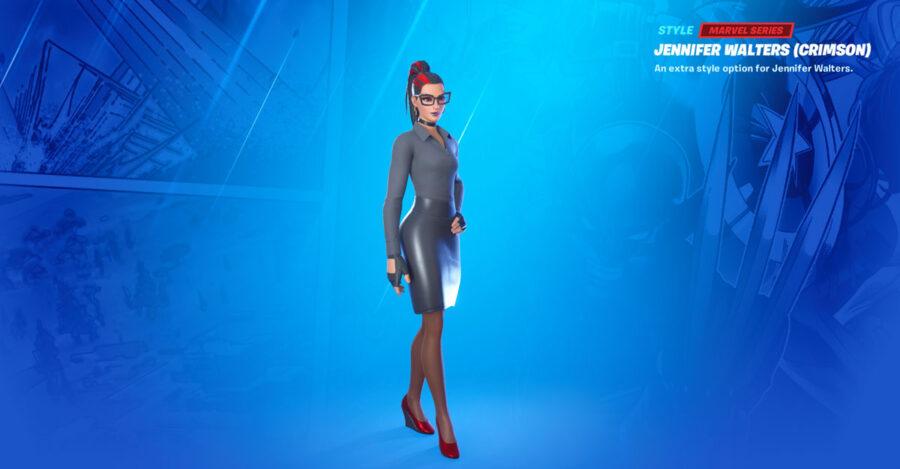 Featured crimson Jennifer Walters