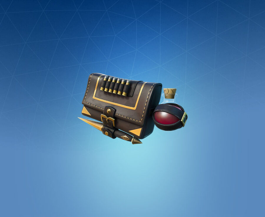 Slayer's Saddlebag Back Bling