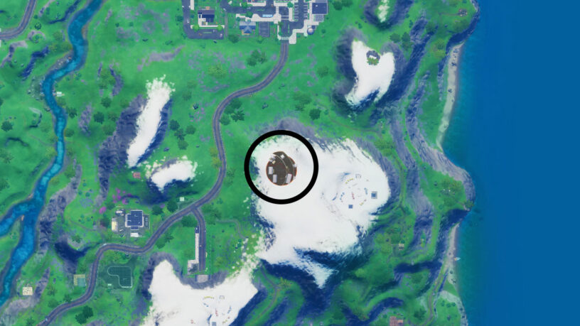 Fortnite The Collection POI map location