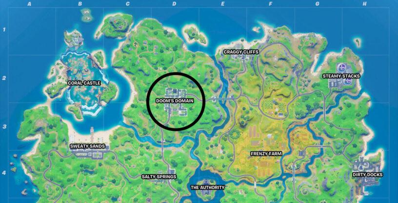 Doom's Domain map location