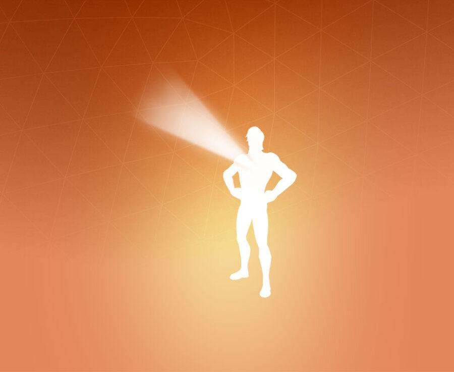 Hero's Beacon Emote