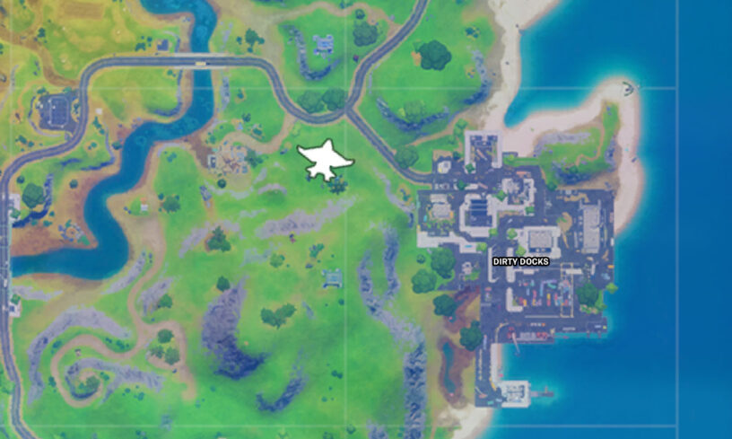 Quinjet example location map
